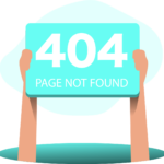 404 message page not found