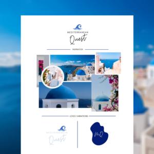 Royal blue branding kit